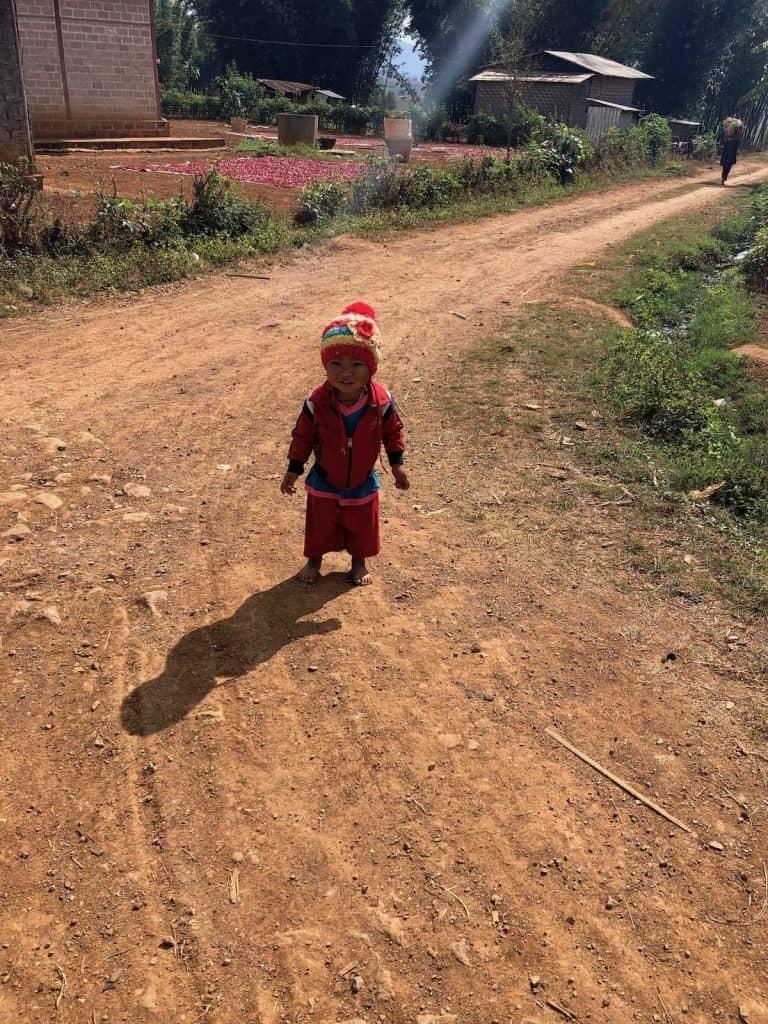 enfant à myanmar