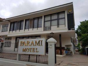 Façade de l'hotel Parami