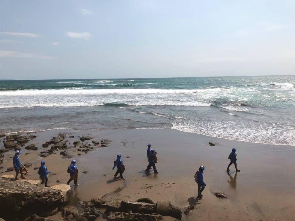 Association 4Ocean en action à Bali