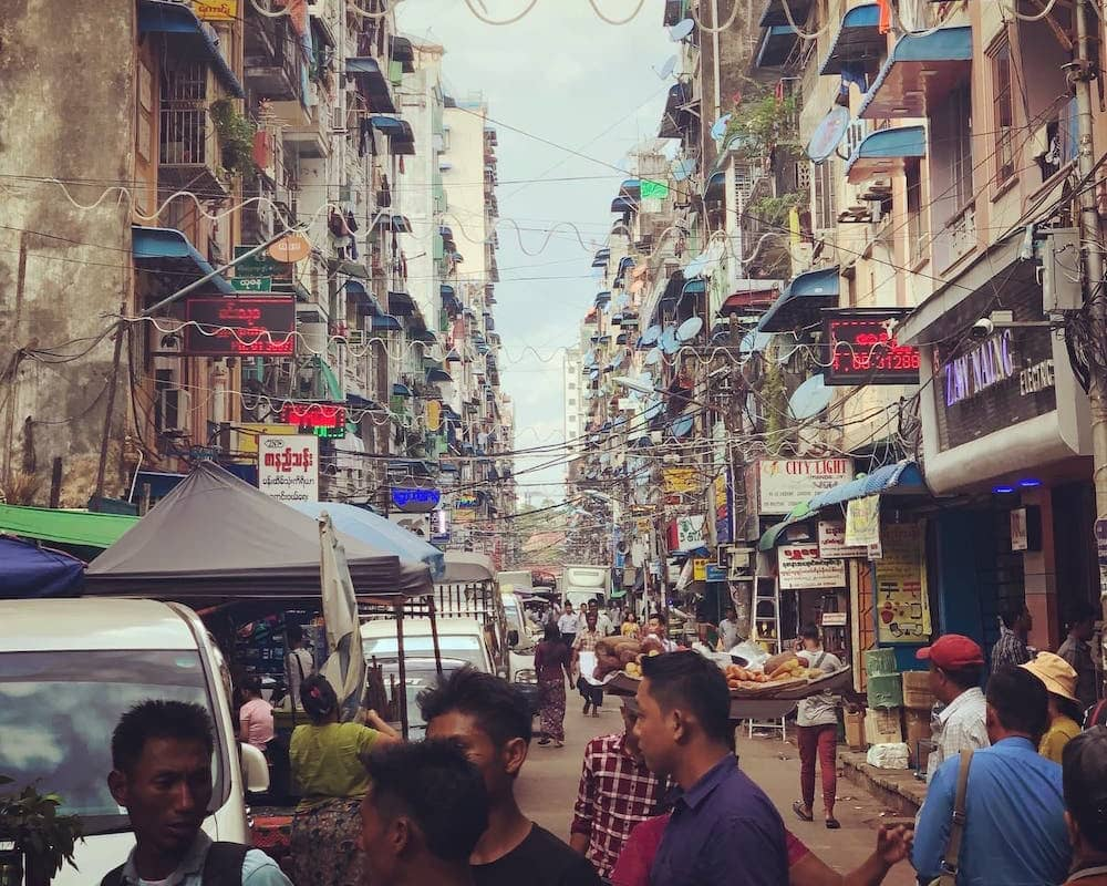Ville de Yangon