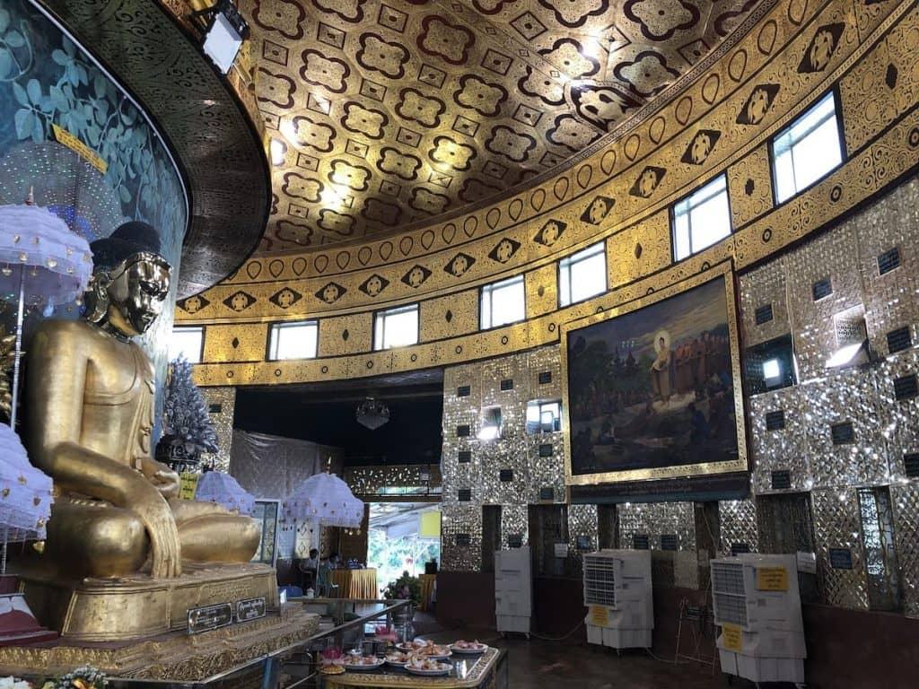 Buddha en argent