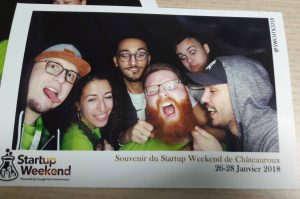 Equipe Startup Weekend Chateauroux