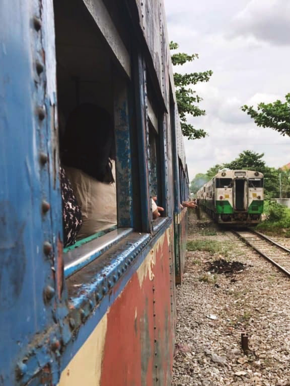 Train de Yangon