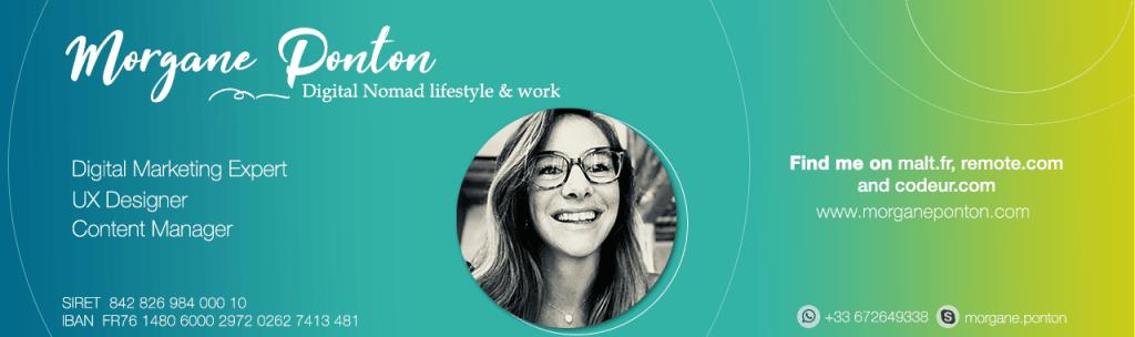 Header pour freelance