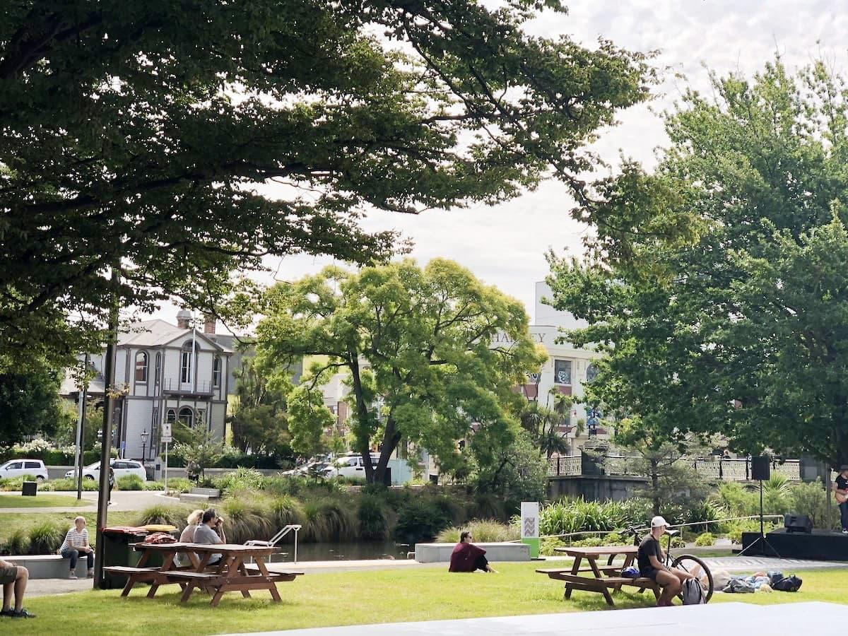 Parc à Christchurch
