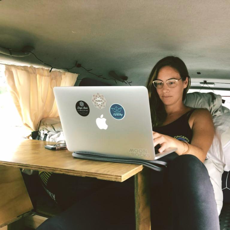 Van pour digital nomad