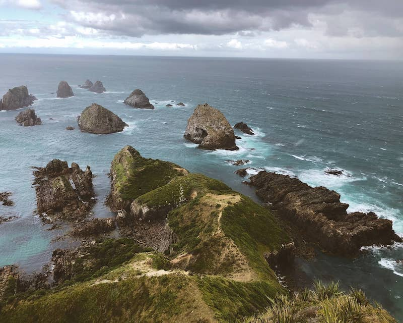 Nuggets Point en NZ