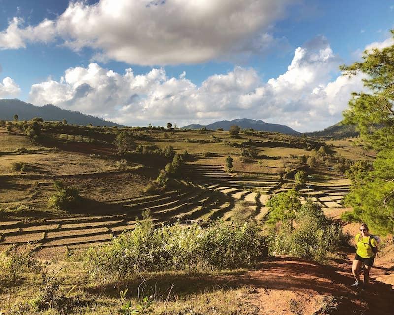 Paysage agricole Birmanie