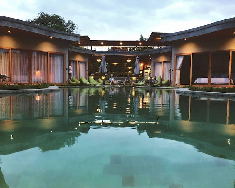 Boutique hostel Elementum Bali