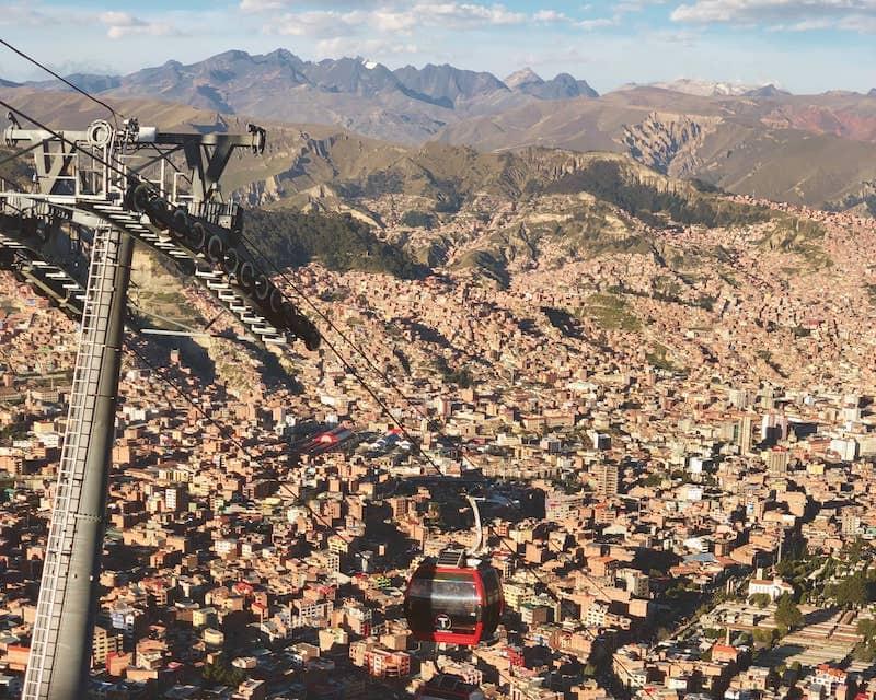 Telephérique de La Paz