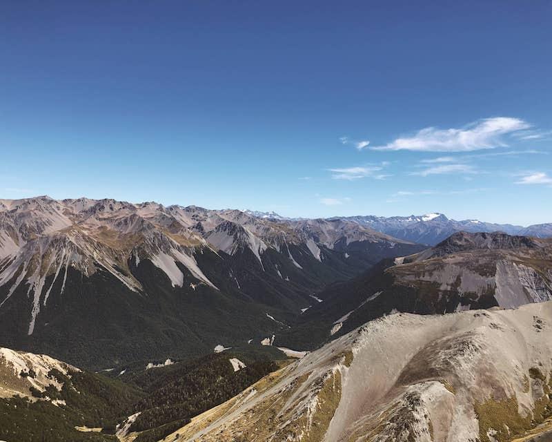 Montagne en Nouvelle-Zélande