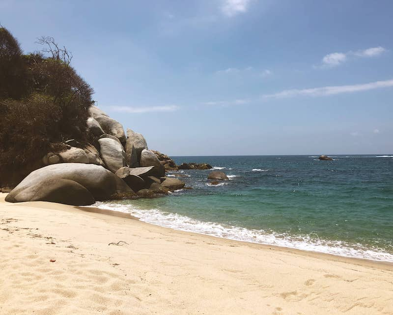 Tayrona Parc Colombie