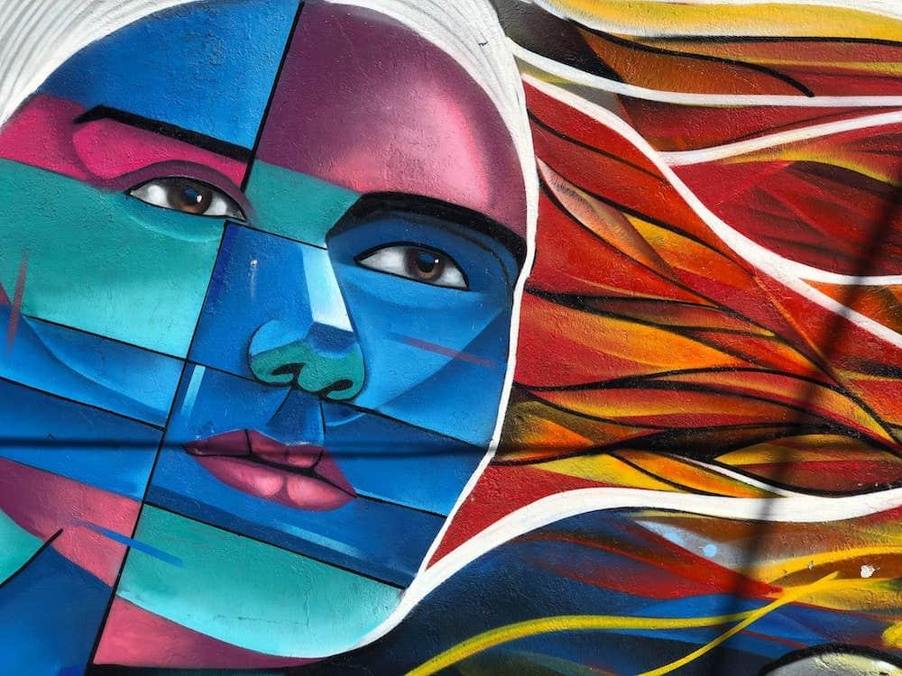 Art de rue dans la Comuna 13 de Medellin