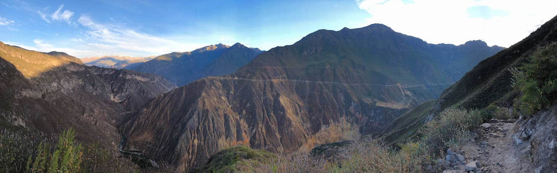 Panorama du Canyon del Colca