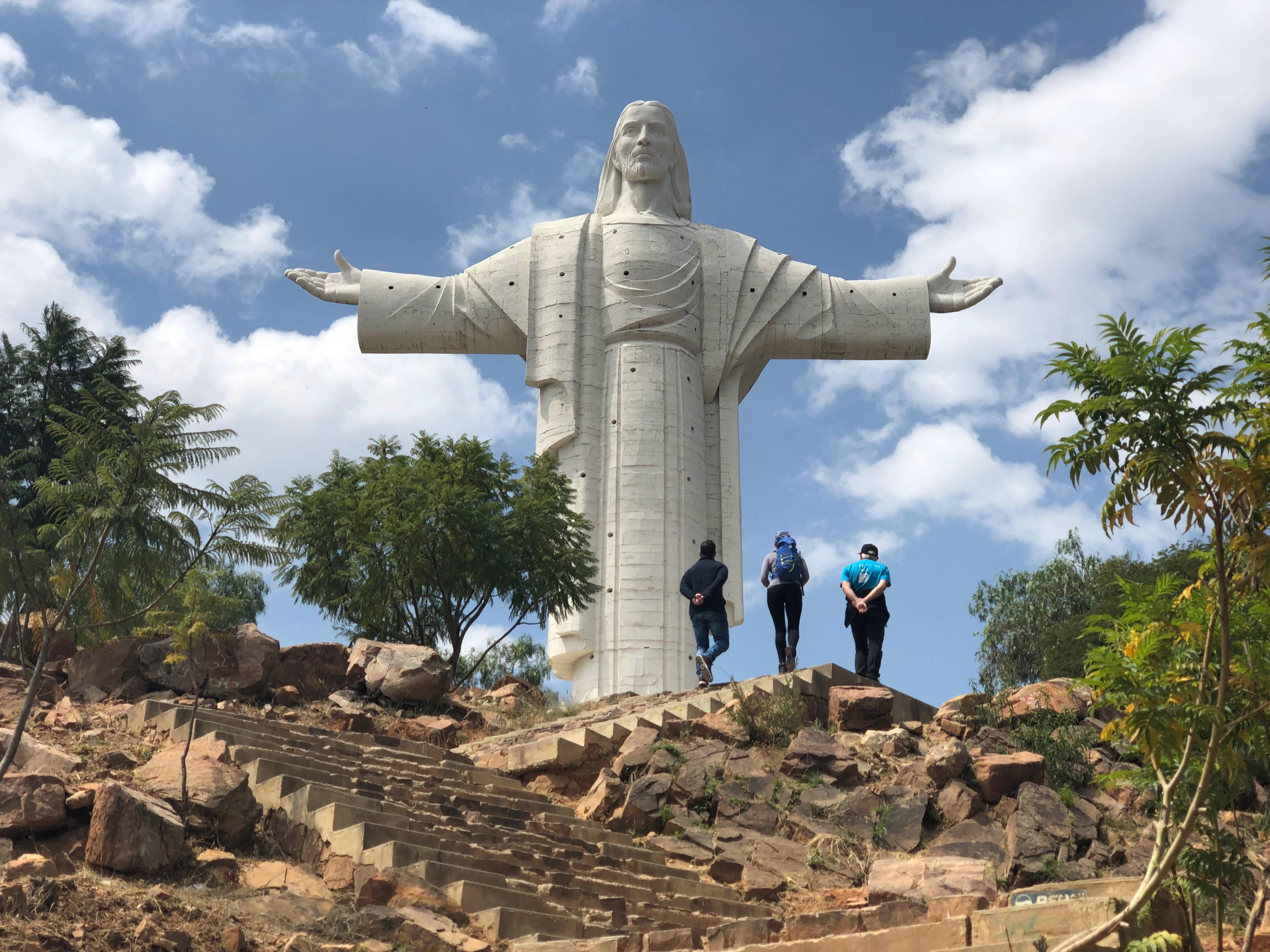 Le christ de la Cochabamba