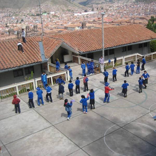 Ecole à Cusco