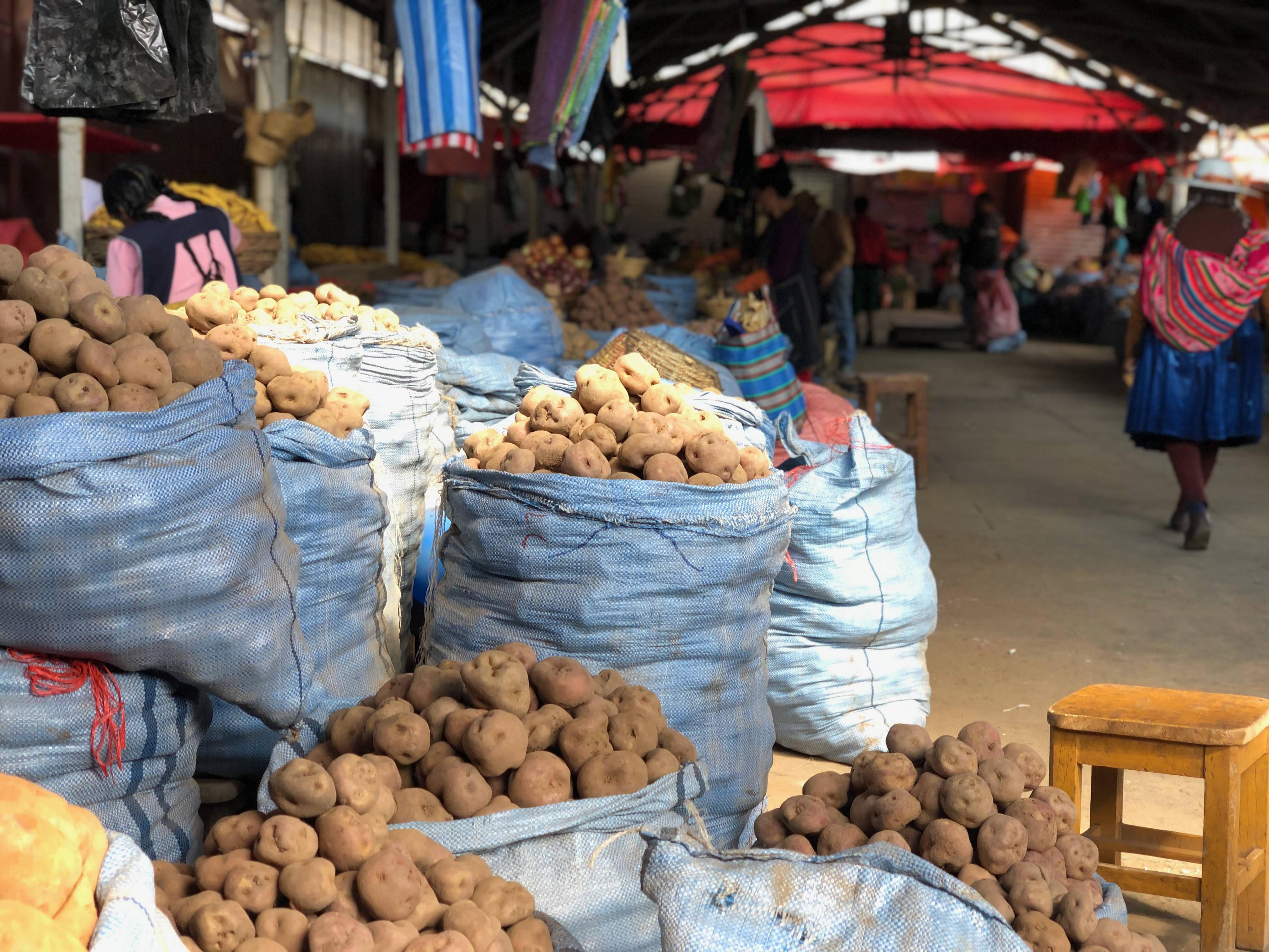 Legumes au marché de cochabamba