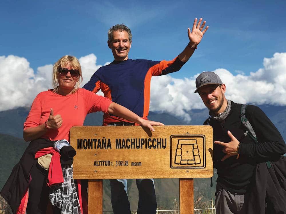 Sommet de la Montana au Machu Picchu