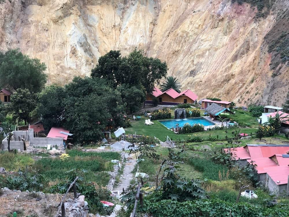 Oasis de Sangalle pendant le trek