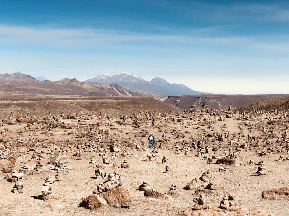 La plaine des Volcans au Pérou