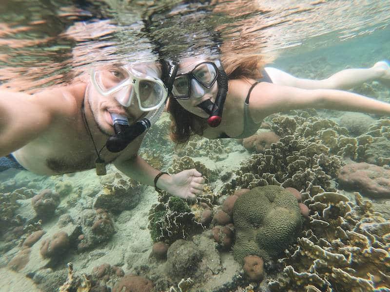 Selfie Snorkelling