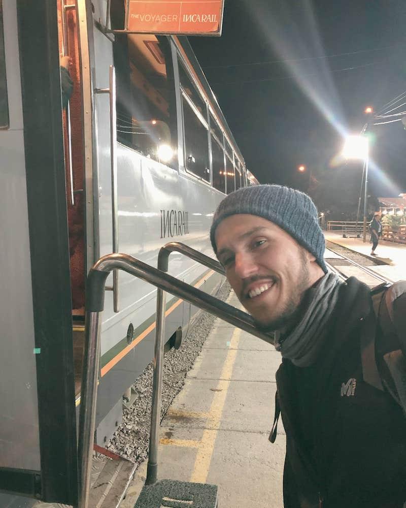 Embarquement Inca Rail