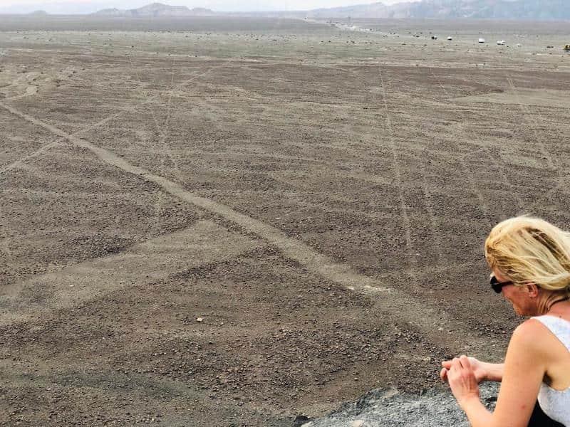 Bea lignes de Nazca